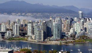 Vancouver - gdzie morze spotyka góry